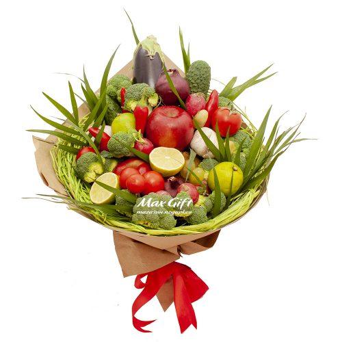 """Букет из овощей и фруктов """"Рататуй"""""""