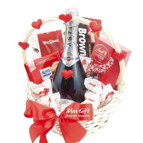 Подарочная корзина «День Святого Валентина»