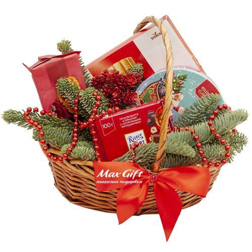 Подарочная корзина «Праздник ёлки»