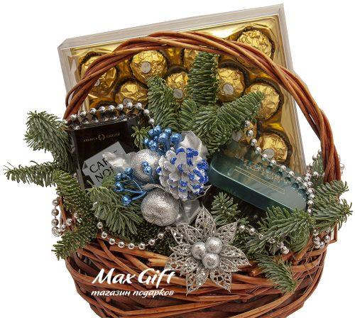 Подарочная корзина «Новогодний презент»