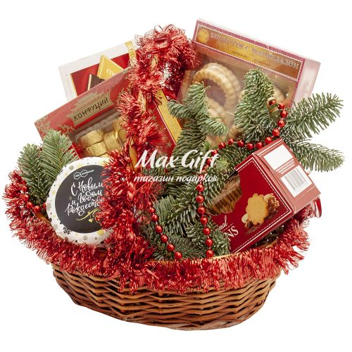 Подарочная корзина «С Рождеством!»