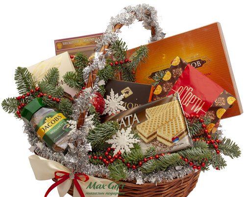 Подарочная корзина «Волшебный новый год»