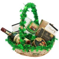 "Подарочная корзина с виски ""Jameson"" (новогодняя) — магазин подарков Макс-ГИФТ"