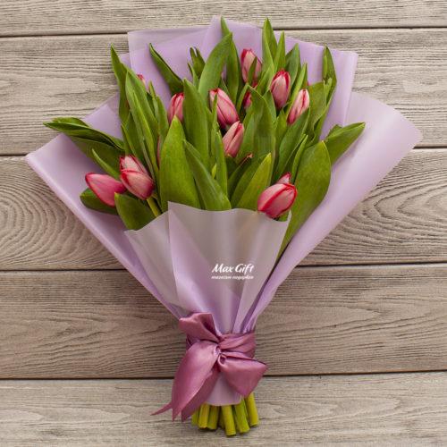 Букет из тюльпанов «Марианна»