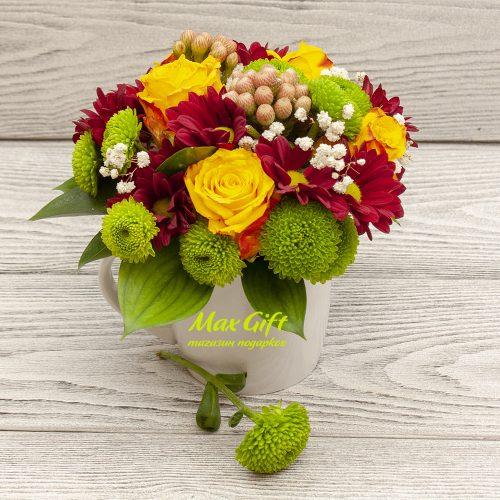 Композиция с цветами «Жаклин»