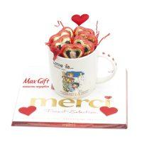 Подарочный набор «Сердечный привет»