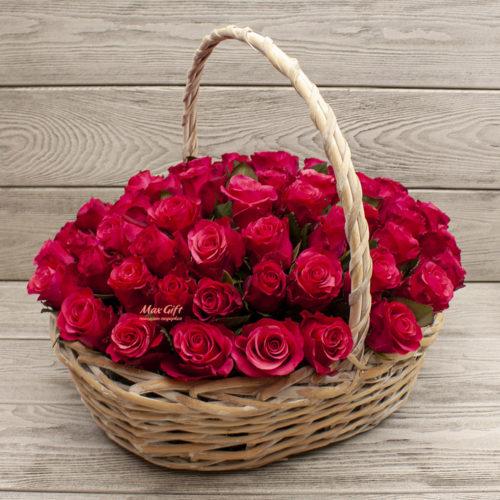 Корзина с цветами «Торжественная»