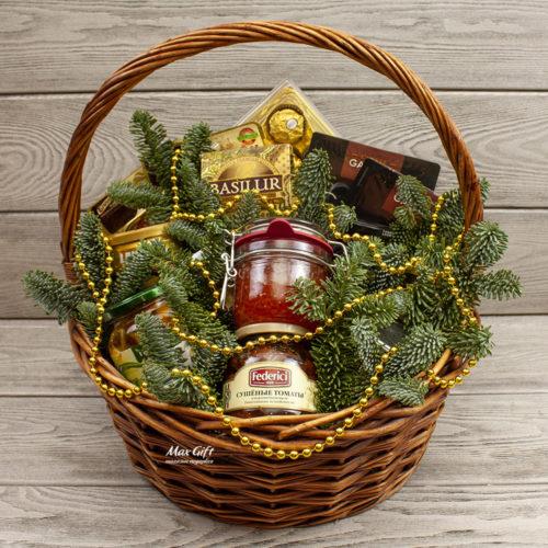 Подарочная корзина «Новогоднее застолье»
