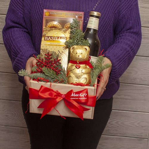 Подарочный набор «Новогодний Тедди»