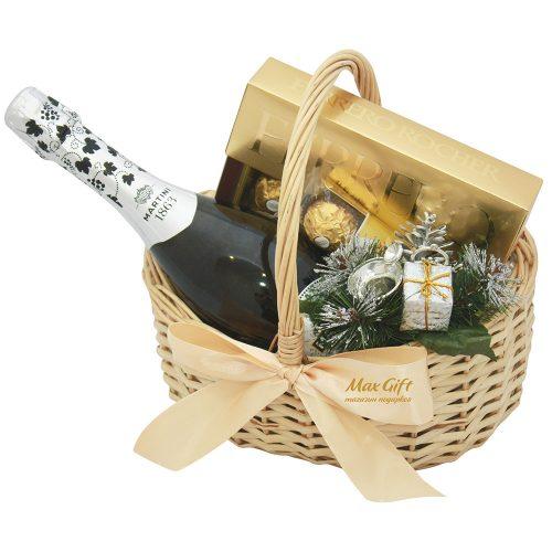 """Подарочная корзина """"Новогодняя ферерка"""""""