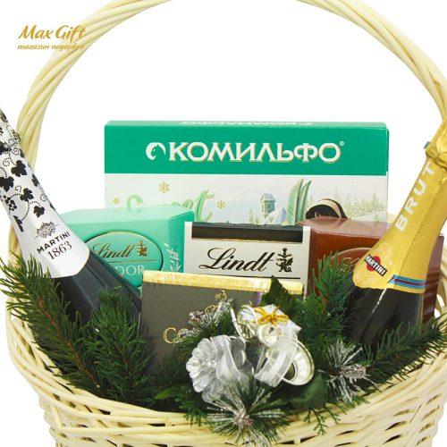 "Подарочная корзина ""Снежная"""