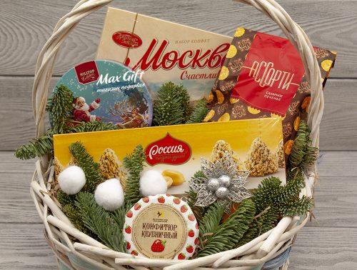 Подарочная корзина «Русский Новый год»
