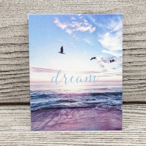 Открытка мини «Dream»