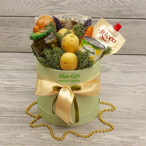 Подарочный набор с овощами «Оливье»