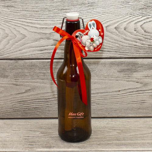 Открытка Послание в бутылке
