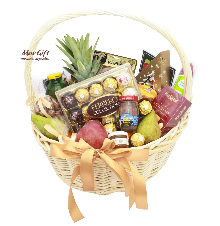 dd2c0264c182 Подарочная корзина с фруктами