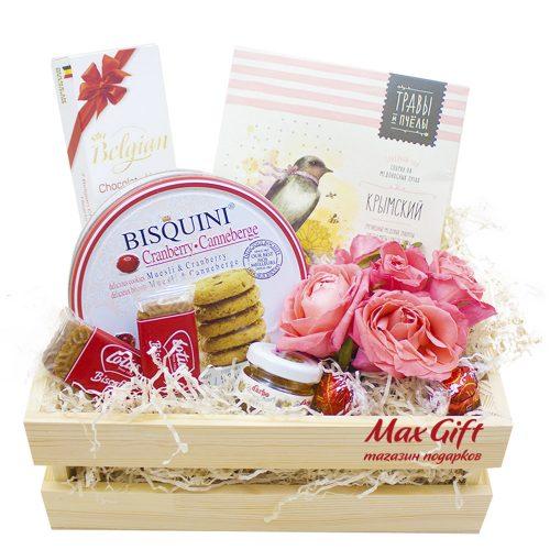 Подарочный набор с цветами «Дания»