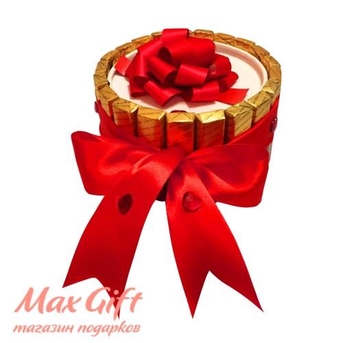 """Торт из конфет """"Подарочный"""""""