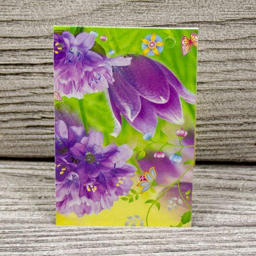 Мини-открытка «Цветы»