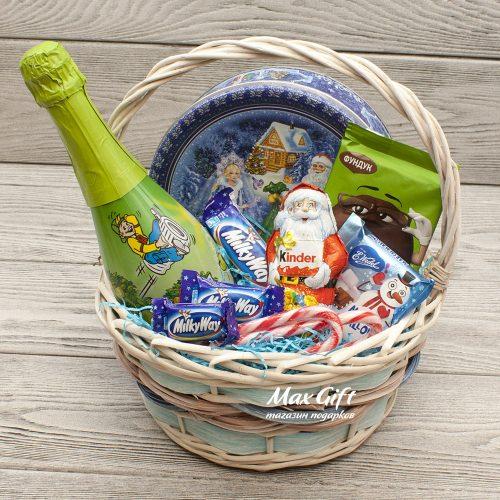 Подарочная корзина «Детский Новый год»