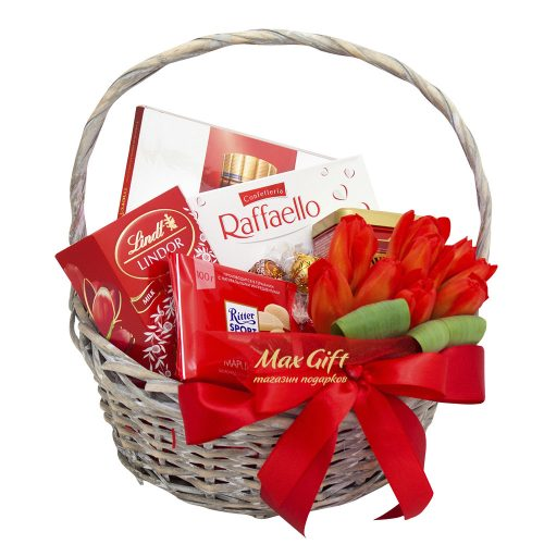 Подарочная корзина «Для милых дам»