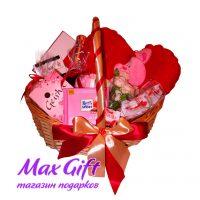 """Подарочная корзина """"Подарок любимой"""""""