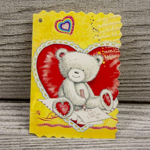 Мини открытка «Мишки»