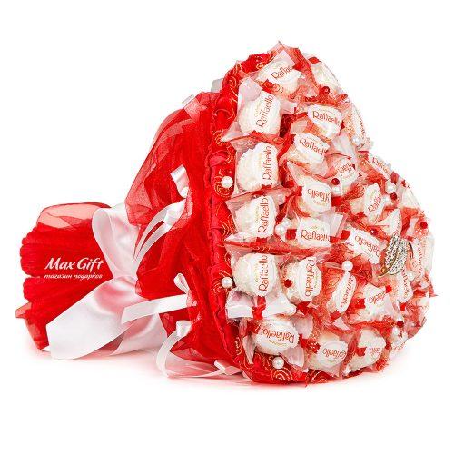 """Букет из конфет """"Сердце 3"""""""