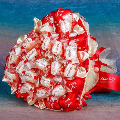 """Букет из конфет """"Валентинка"""""""