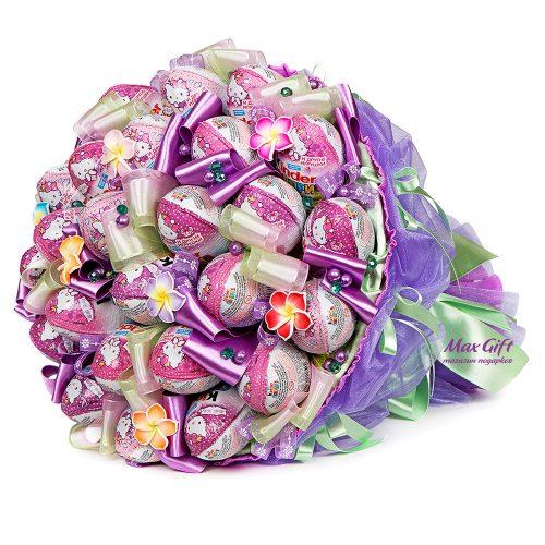 """Букет из конфет """"Киндер мания"""""""