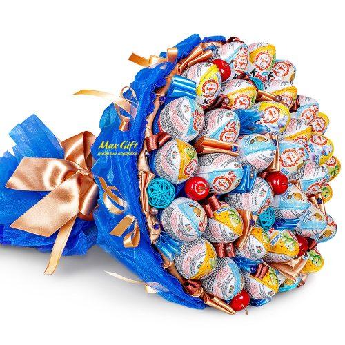 """Букет из конфет """"Киндер мания XL"""""""