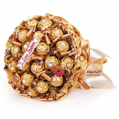 """Букет из конфет """"Кофемания"""""""