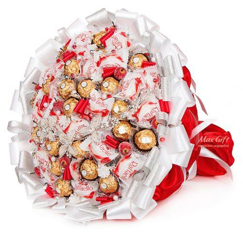 """Букет из конфет """"Снежный"""""""