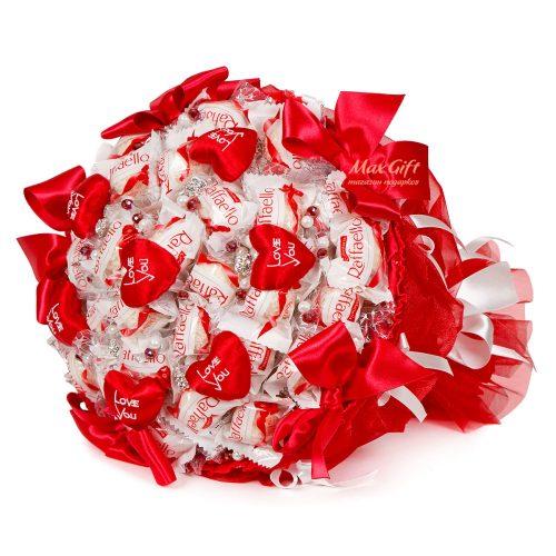 """Букет из конфет """"LOVE YOU"""""""