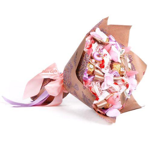 """Букет из конфет """"Сладкий чай - 2"""""""