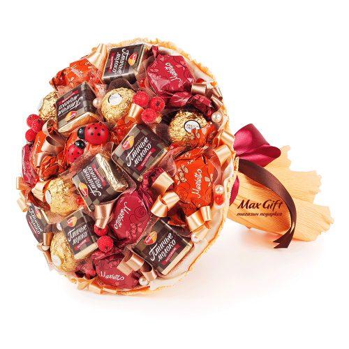 """Букет из конфет """"Золотая осень"""""""