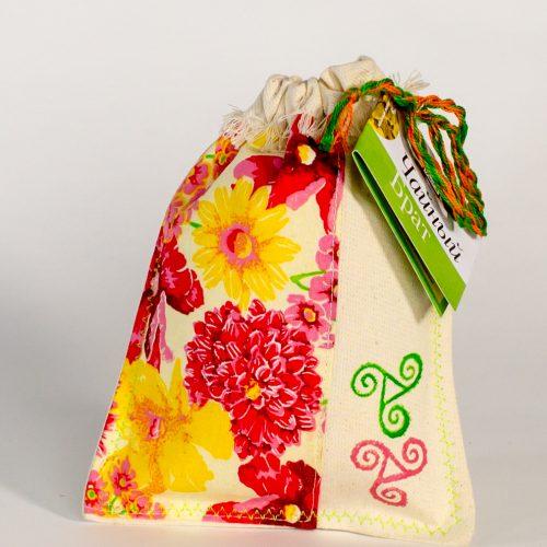 """Подарочный набор шапка-сумка """"Подай парку №1"""""""