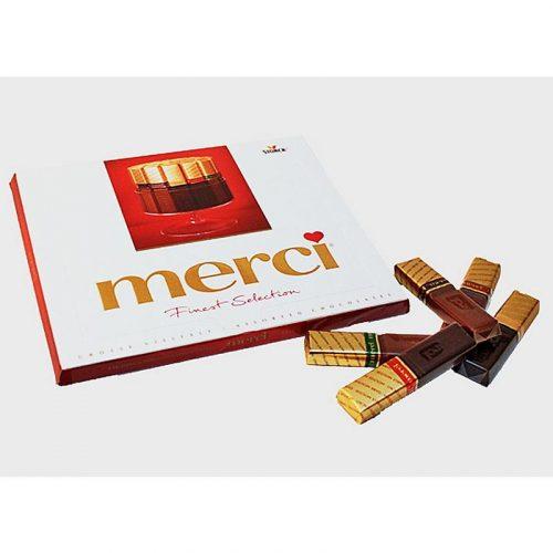 """Шоколадные конфеты """"Merci"""""""