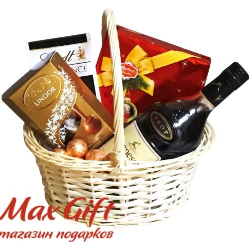 """Подарочная корзина """"Мужской каприз"""""""