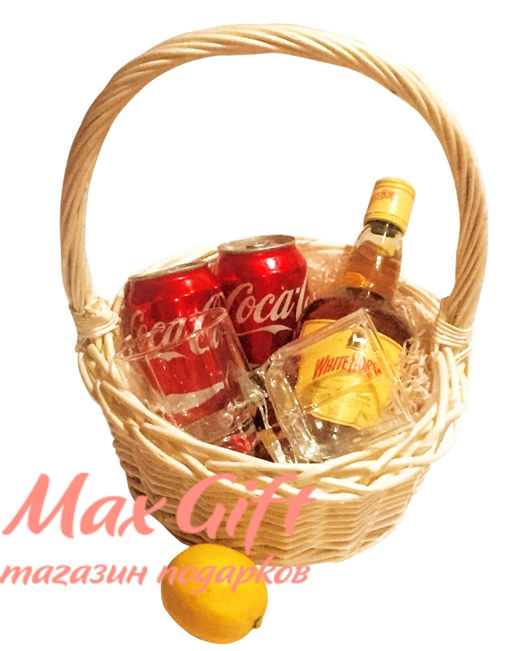 """Подарочная корзина """"Whisky Cola"""""""