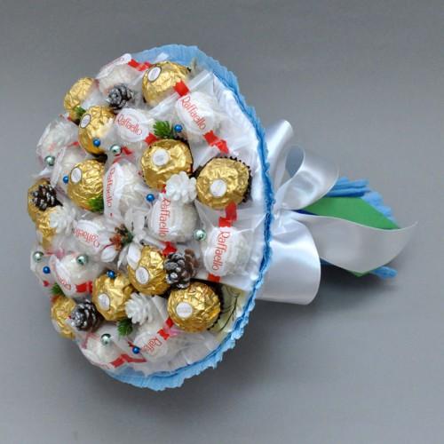 """Букет из конфет """"Изморозь"""""""