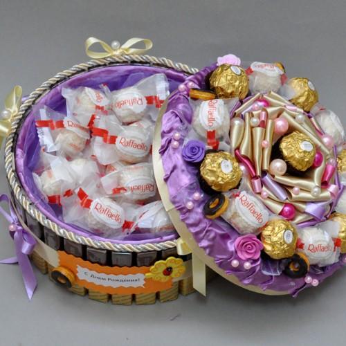 "Торт из конфет ""Лакомка"" 2"
