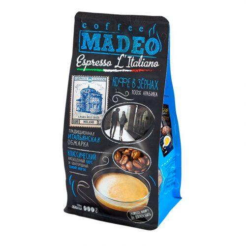 "Кофе в зёрнах ""Madeo"" Expresso L'Italiano"