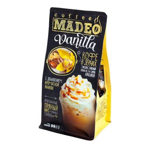 Кофе в зёрнах «Madeo» Vanila
