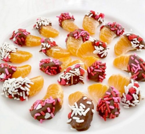 Фруктовые конфеты «Мандариновое конфетти»