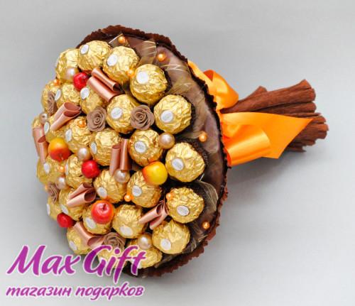 """Букет из конфет """"Осенний карнавал"""" 2"""