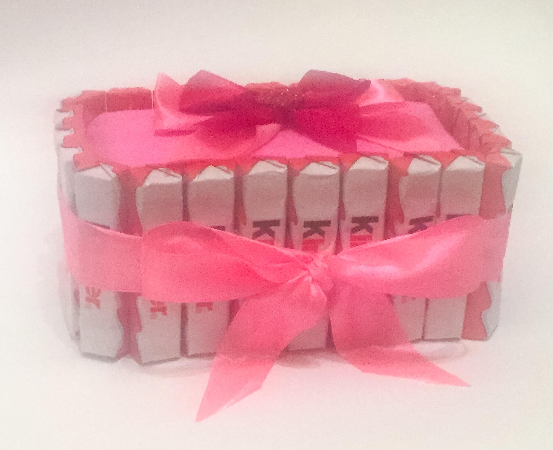"""Торт из конфет """"Pink"""""""