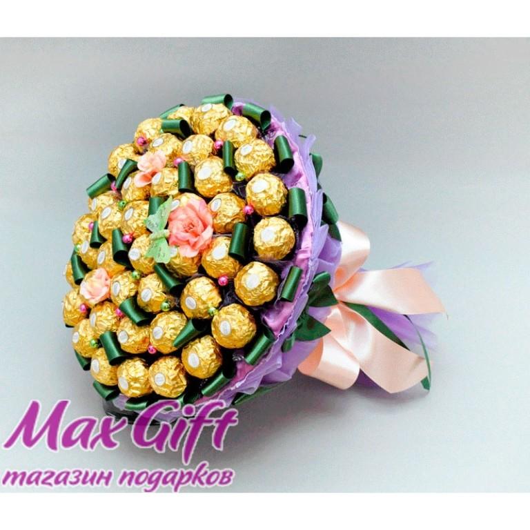 Подарок букет из конфет на день рождения