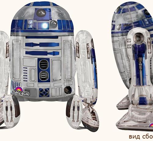 """Ходячий шар """"R2D2"""" Звездные Войны"""
