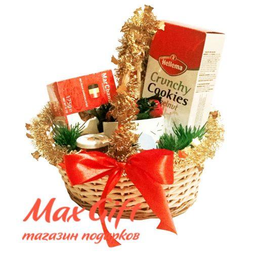 """Подарочная корзина """"Рождественский презент - 1"""""""